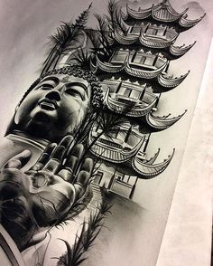 Finished up the Buddha/temple/meditation piece. Going to tuck it In between some other work on the inner forearm in a tight space! Area isn't that wide. #work #pencil #graphite #tattoospooky #theprocess #homework #graveyard #shift #buddha #temple #meditation #art #artist #artnerd #arts_help #artofvisuals #art_spotlight #artcollective #sketch_daily #spotlightonartists #artmagazine #arts_gallery #artsamazingz #proartists #worldofartists #theartisthemotive #worldofpencils #create
