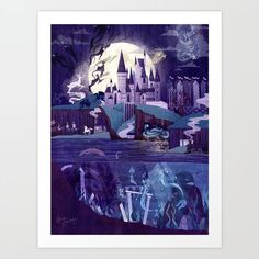 Buy Never a Quiet Year at Hogwarts Art Print by annemeier. Worldwide shipping available at Society6.com. Just one of millions of high quality products available.
