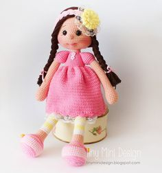 Mesmerizing Crochet an Amigurumi Rabbit Ideas. Lovely Crochet an Amigurumi Rabbit Ideas. Crochet Doll Pattern, Crochet Patterns Amigurumi, Amigurumi Doll, Crochet Dolls, Crochet Hook Set, Cute Crochet, Amigurumi For Beginners, Crochet Supplies, Mini