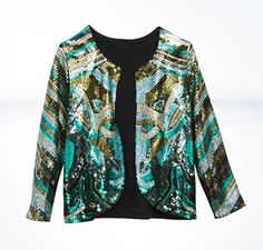 H sequined-jacket $59.95
