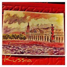 2013-08-20 #Postcard from #Russia ( RU-1901607) via #postcrossing #Padgram