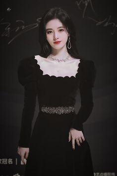 Beautiful Chinese Girl, Cute Japanese Girl, Korean Fashion Dress, Fashion Dresses, Chinese Fashion, Cute Kawaii Girl, Asian Wedding Dress, Stylish Work Outfits, Ulzzang Korean Girl