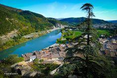 Sisteron et la Durance vue depuis la citadelle - Alpes de Haute Provence 04