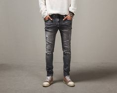 Balmai Fashion streetwearJeans via JQ online store. Click on the image to see more!