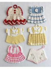 Crochet Kitchen Decor - Vintage Fashion Potholders