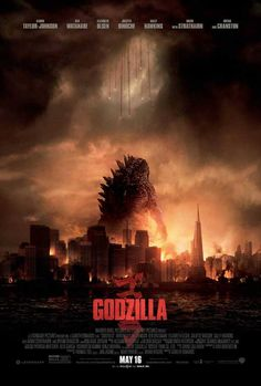 Godzilla 27x40 Movie Poster (2014)