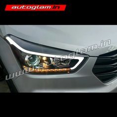 Buy Our Hyundai Creta, DRL, AES 55 watt, XENON HID Projector Headlights. These Headlights are Durable & exclusively designed by understanding & keeping weather & road conditions in mind. Hidden Projector, Projector Lens, Projector Headlights, Car Headlights, Hyundai Creta, Installation Manual, Wooden Crates, S Models, Car Accessories