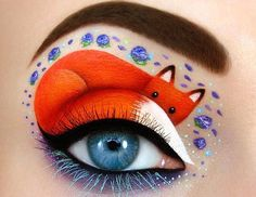 Tal Peleg, an artist from Israel, is immensely fond of artistic make-up. She creates tremendously beautiful and magical paintings right on her eyelids. We are enraptured by her art! And how about you?