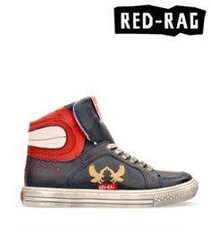 red-rag High Tops, High Top Sneakers, Boys, Red, Fashion, Baby Boys, Moda, Fashion Styles, Senior Boys