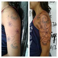 Restauração de tattoo