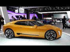 Kia GT4 Stinger Concept - Up Close & Personal - 2014 Detroit Auto Show