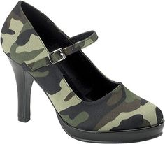 Funtasma Soldier 06 - Camouflage Fabric - Free Shipping & Return Shipping - Shoebuy.com