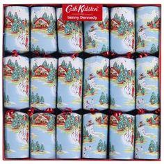 Cath Kidston cracker design. Chalet scene