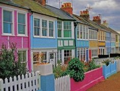 Homes in Whitstable, a quaint seaside town in North Kent, England.
