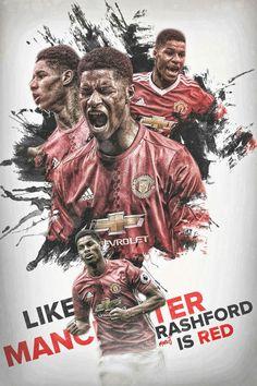 Manchester United City, I Love Manchester, Manchester Football, Manchester United Wallpaper, Marcus Rashford, Football Wallpaper, Old Trafford, Man United, Chelsea Fc