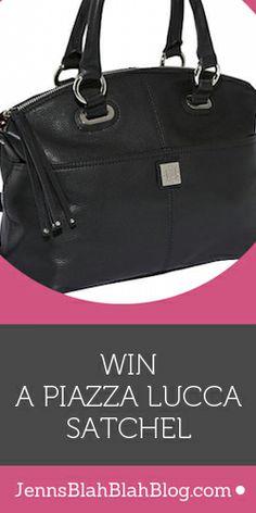 #Win a Piazza Lucca #Satchel! #fashion #beauty #handbag #purse #sweepstakes
