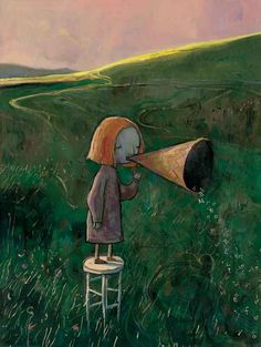 Shaun Tan....Heelllooo!! Anyone out there??? Please???
