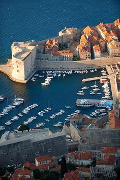 Dubrovnik old town . Croatia