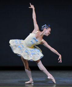 Frances Chung  San Francisco Ballet perform Balanchine's 'Divertimento No. 15' (Mozart), at Sadler's Wells Theatre, September 2012     see www.dancetabs.com