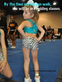 Oh yes... She will be the fiercest little sass you've ever seen. The next Kiara Nowlin