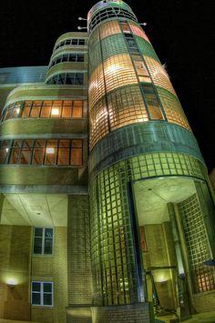 Clay Tower Building, University of Charleston by shrinksteve, via Flickr