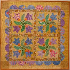 dutch girl quilts | DUTCH GIRL TULIP QUILT PATTERN | Free Patterns