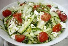 Wise Not so hard Gm Diet Benefits Gm Diet Vegetarian, Vegetarian Recipes, Healthy Recipes, Hungarian Recipes, Light Recipes, Caprese Salad, Food Inspiration, Salad Recipes, Feta