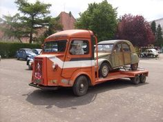 Citroen Van, Citroen Type H, French Classic, Classic Cars, N Tesla, Tow Truck, Trucks, Automobile, Cab Over