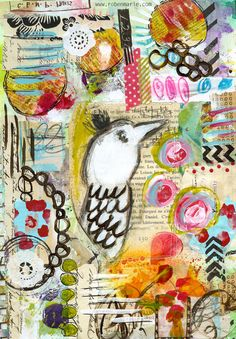 """This looks so fun!!!  """"Every Life Has a Story!"""" - {Roben-Marie Smith} - Art Journal Love -TWEET..."""