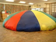 Parachute games...download the booklet...brilliant fun for all children.