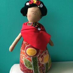 Bonequinha Frida!