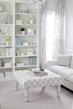 family room ottoman