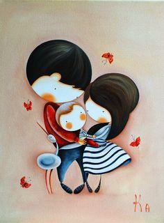 Картины для детских комнат: Для очаровательной семьи:)