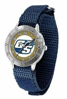Georgia Southern Eagles Youth Watch Velcro Strap Watch by SunTime. $29.95. Kids & Toddlers. Officially Licensed Georgia Southern Eagles Youth Watch. Adjustable Band. Stainless Steel Back. Velcro Strap. Georgia Southern Eagles Youth Watch Velcro Strap Watch. The metal alloy case is light weight with a stainless steel back and a sporty adjustable Velcro strap for the perfect, comfort youth fit. The Eagles large team logo creates an eye popping prideful statement....