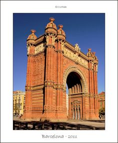 Arch of Victory, Barcelona
