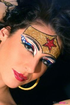 Wonder Woman Costume Makeup | Costumepedia.com