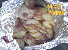 Grilled Potatoes & Onions