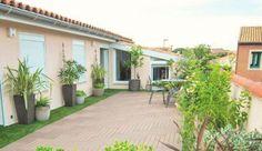 Aménager une terrasse : avant /après d'une terrasse à Montpellier - Côté Maison