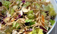 Applebee's Asian chicken salad copycat recipe