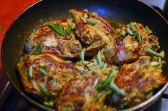 Mumbai style chicken with rice pilaf   heneedsfood.com
