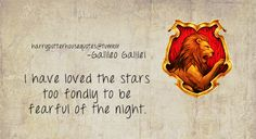 Gryffindor House Quote