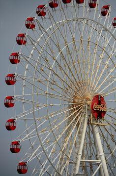 Coca Cola Ferris Wheel by David Coward - Okinawa