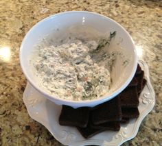It's impossible for any guest to be a Grinch when you serve Spinach Dip by @Courtney Dolinar (momfabfun.com) at your special holiday event! #HolidayHelper