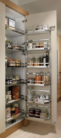 Pull Out Shelves An Best Option for Kitchen Pantry Storage. Pull Out Shelves An Best Option for Kitchen Pantry Storage. 35 Variety Of Appliances Storage Ideas for Your Kitchen Kitchen Corner Cupboard, Kitchen Cupboard Organization, Kitchen Pantry Design, Kitchen Pantry Cabinets, Diy Kitchen Storage, Modern Kitchen Cabinets, Modern Kitchen Design, Home Decor Kitchen, Interior Design Kitchen