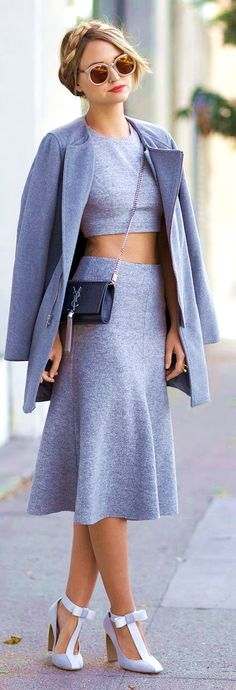 34 Viral Outfits With The Sweet N Trendy Crop Top #crop #top #outfits #summer #casual