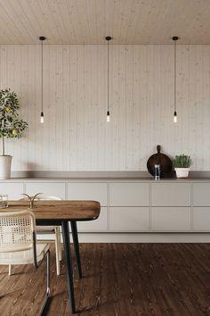 Interior Desing, Interior Design Living Room, Interior Architecture, Minimalist Home Interior, Cozy Kitchen, Home Decor Inspiration, Kitchen Design, Villa, Indoor