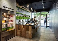 Design studio Mystery has created the branding and interiors for a new health-fo
