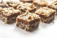 Gluten Free Date Bars {No Added Sugar} - Vitamin Sunshine