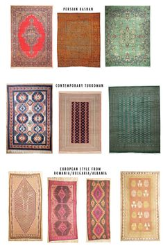 I didn't like rugs but I think I am falling for them now...