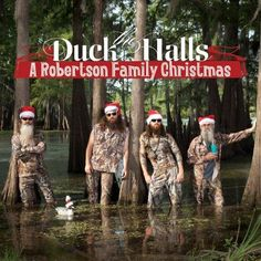 duck dynasty christmas album duck the halls a robertson family christmas video luke bryan more sing for reality show holiday record - Country Christmas Radio